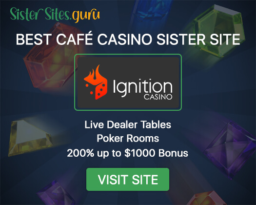 Cafe Casino sister sites