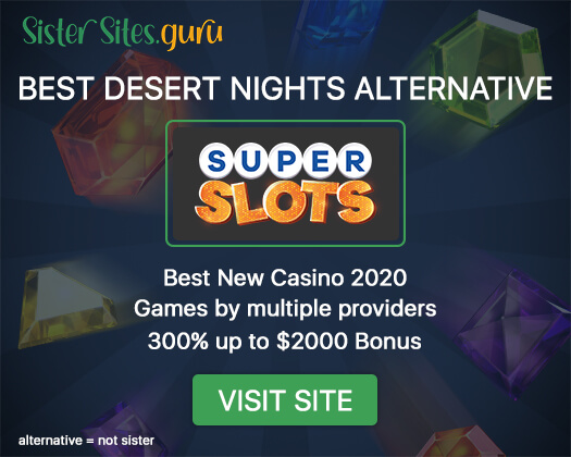 Casinos like Desert Nights