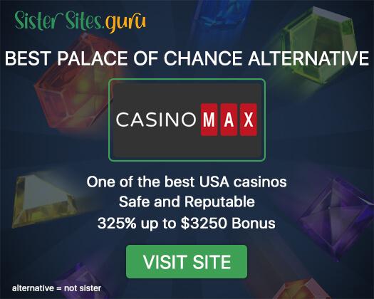 Casinos like Palace of Chance