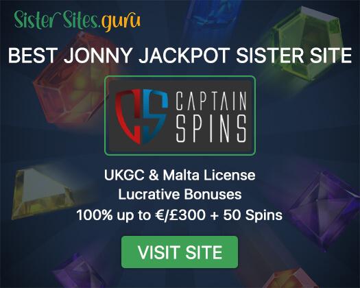 Jonny Jackpot sister casinos