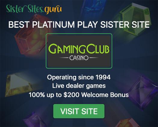 Platinum Play sister sites