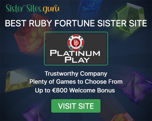 Ruby Fortune sister sites