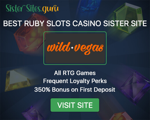 Ruby Slots sister sites