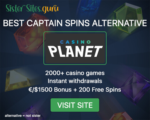 Sites like Captain Spins