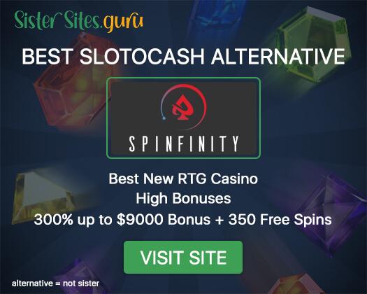 Casinos like Slotocash